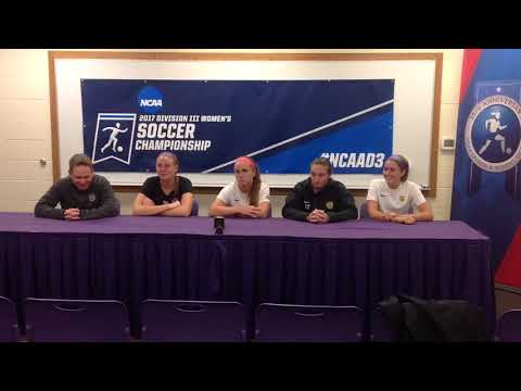 NCAA Women's Soccer Second Round Presser