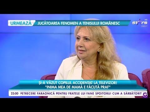 Luminița, mama lui Dorian Popa, și-a văzut copilul accidentat la televizor: Inima mea e făcută