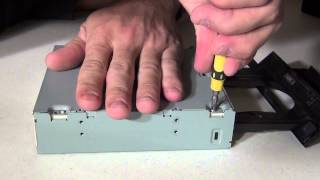 How to repair a CD/DVD drive that won