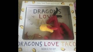 Matt's playtime.  Book review Dragons love tacos by Adam Rubin.  Making ground beef tacos.