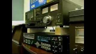 Technics RS-M7 Cassette Deck & Alesis ML-9600 Masterlink Recorder