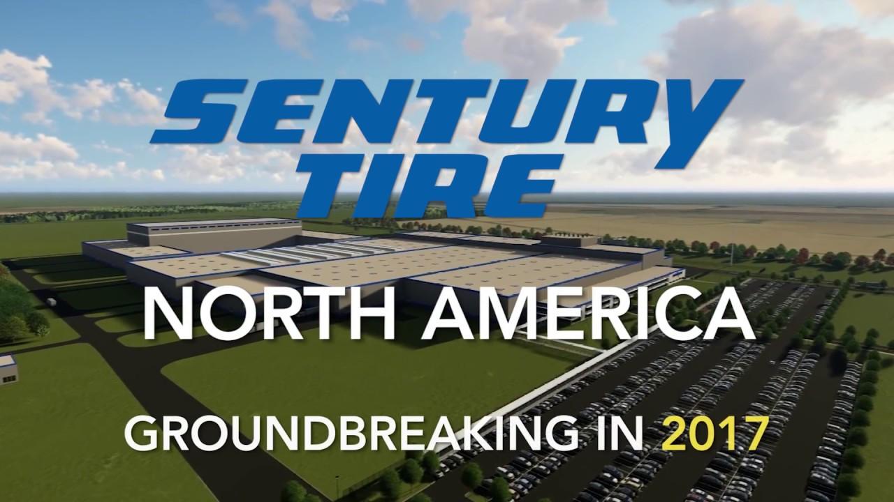 Sentury Tire North America Groundbreaking In 2017 Youtube