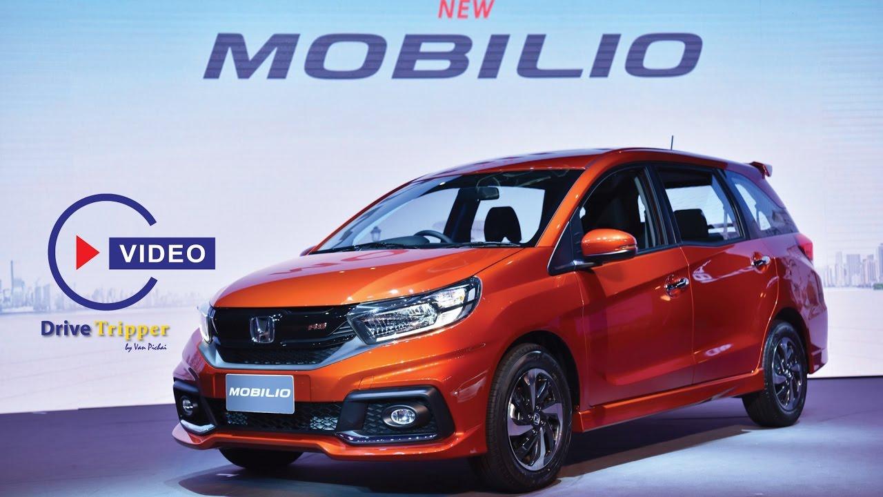 New Honda Mobilio 2017 - YouTube