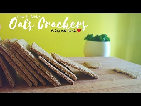 GLUTEN AND SUGAR FREE OATS CRACKERS