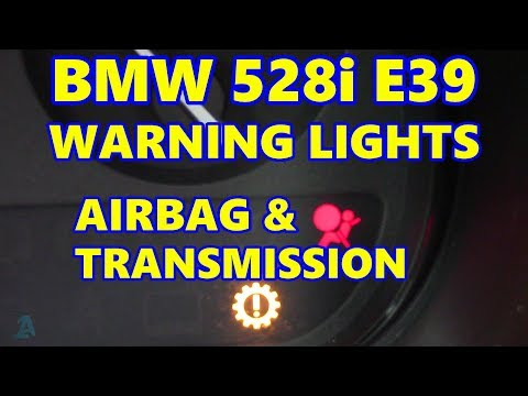 BMW 528i E39 Airbag & Transmission Lights On