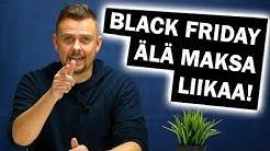 5 vinkkiä BLACK FRIDAY -ostoksiin!