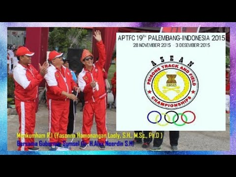 Asean Prison Track And Field Championship 19th 2015 Jakabaring Palembang
