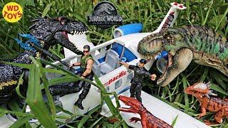 New Jurassic World Stygimoloch Fallen Kingdom T-Rex Vs indoraptor Mattel Dinosaur Toy Unboxing
