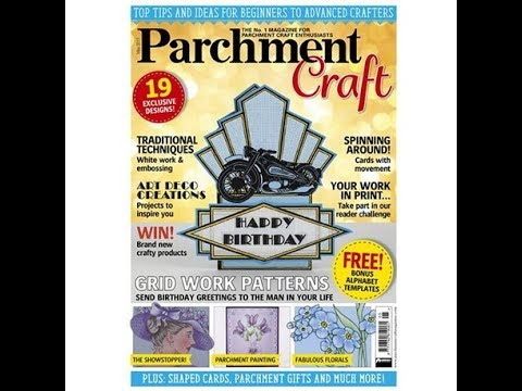 Parchment Craft magazine Pergamano mai 2017