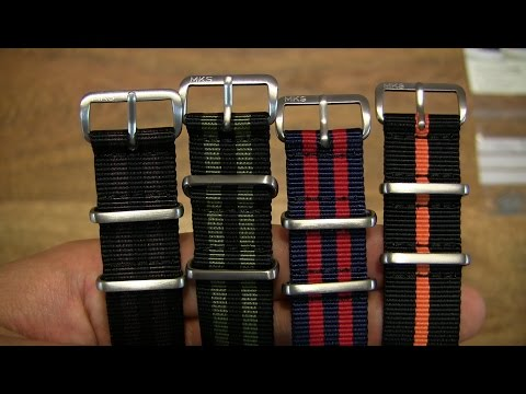Monkey Swag MKS NATO Watch Straps With Matte Fittings #2