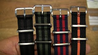 Gambar cover Monkey Swag MKS NATO Watch Straps With Matte Fittings #2