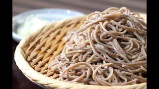 일본에서 갓 잡은 메밀소바 만드는법(건강, 맛 둘다 잡…