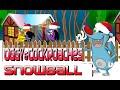 Огги и тараканы в снежки. Эпизод игры. Oggy and Cucaracha snowballs. Kids games.