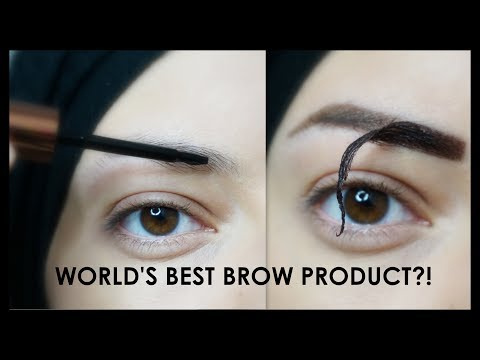 WORLD'S BEST BROW PRODUCT_Eyebrow Makeup Tutorial