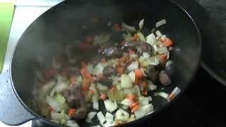 Охотничья похлебка (антикризисный рецепт)(Попробуйте приготовить это простое и здоровое блюдо. Моя партнерская программа VSP Group. Подключайся! https://you..., 2015-01-16T20:30:41.000Z)