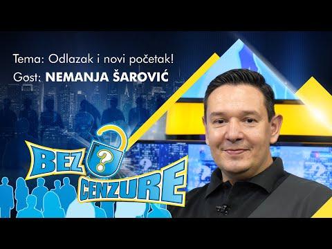 BEZ CENZURE: Nemanja Šarović  Prvi intervju nakon ostavke u SRS!