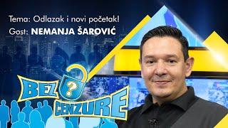 BEZ CENZURE: Nemanja Šarović - Prvi intervju nakon ostavke u SRS!