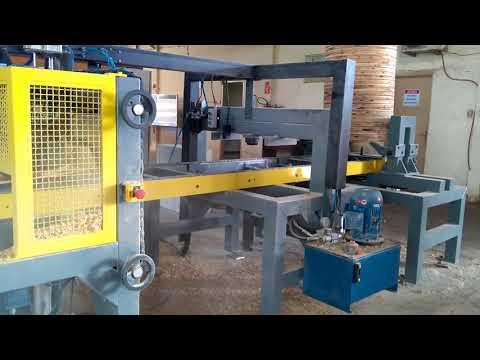 Máquina fazer BOBINAS madeira