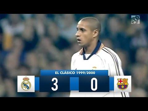 Real Madrid 3-0 Barcelona - La Liga 1999/2000 (26/02/2000) - Full Match Highlights