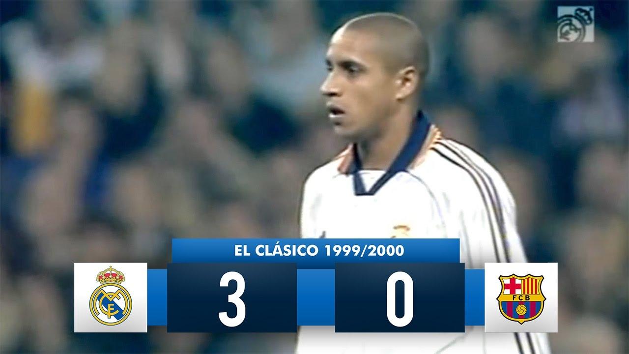 90bfa2504 Real Madrid 3-0 Barcelona - La Liga 1999 2000 (26 02 2000) - Full Match  Highlights