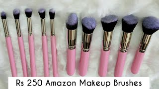 Do They Work? Testing Affordable Amazon Makeup Brushes - Application & Wash Test