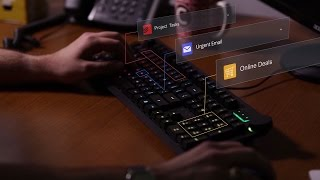 بالفيديو.. أول لوحة مفاتيح
