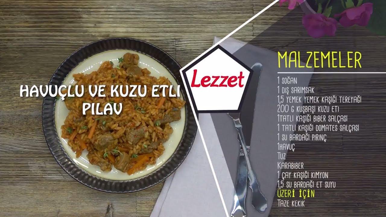 Etli Havuçlu Pilav Tarifi Videosu