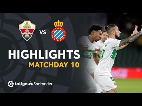 Elche Espanyol Goals And Highlights