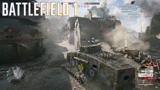 Battlefield 1 Multiplayer #46 ::Conquest:: The Unknown Death -Heavy Tank - No Commentary