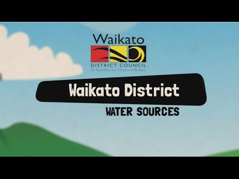 Tour of your local water treatment plant with Waikato District Council water sources.