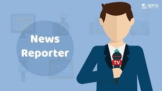Break the Challenges and Become a professional Journalist  ||  REPTO