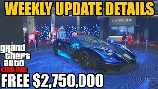 GTA Online | Weekly Discounts | Double Money | Free Supercar | New DLC Vehicle | Weekly Update
