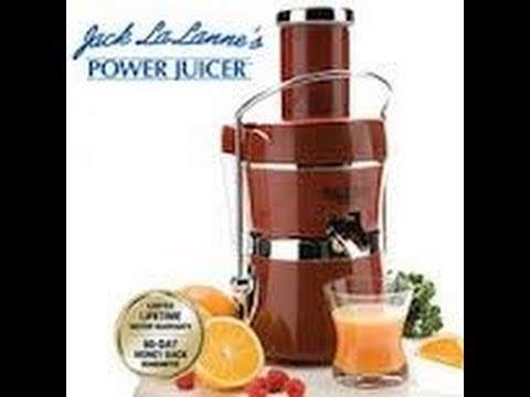 Jack LaLanne Power Juicer Express Review!!!