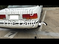 How to paint Honda Accord Trim (Restoration)