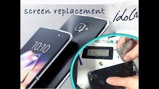 Alcatel Idol 4 (6055K) LCD Screen & Digitizer Replacement / замена экрана| Selekt