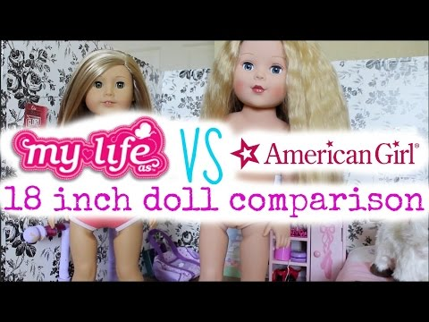 American Girl And My Life As Doll Comparison!