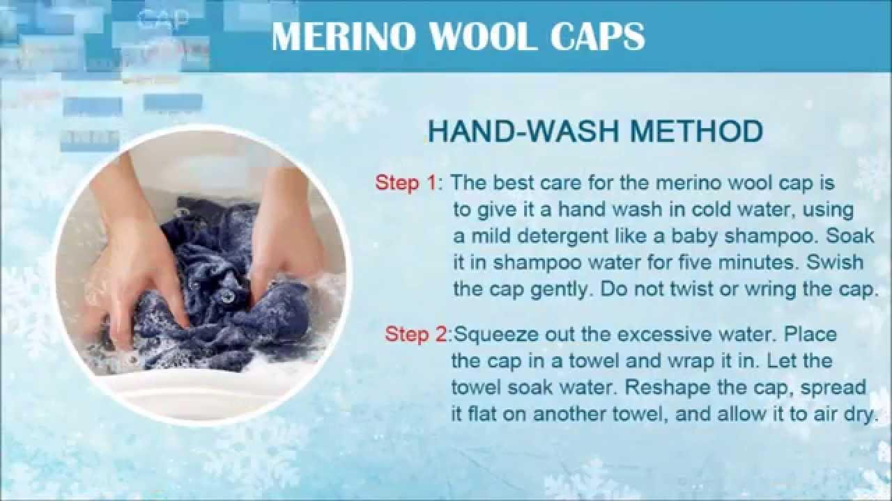How To Wash Merino Wool Caps Washing Tips Tricks Youtube