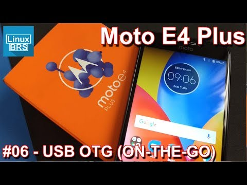 Motorola Moto E4 Plus - USB OTG (ON-THE-GO)