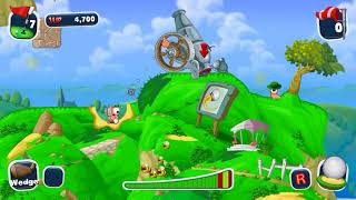 Worms Crazy Golf / PC Playthrough Ep3