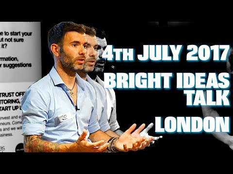 BRIGHT IDEAS TRUST - LONDON MASTERCLASS / FULL TALK / JULY 4TH