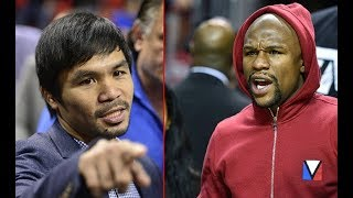 """WOW! MANNY PACQUIAO BLAST FLOYD MAYWEATHER """" STOP USING MY NAME AND YOU"""