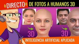 🔴 HUMANOS 3D desde Inteligencia Artificial