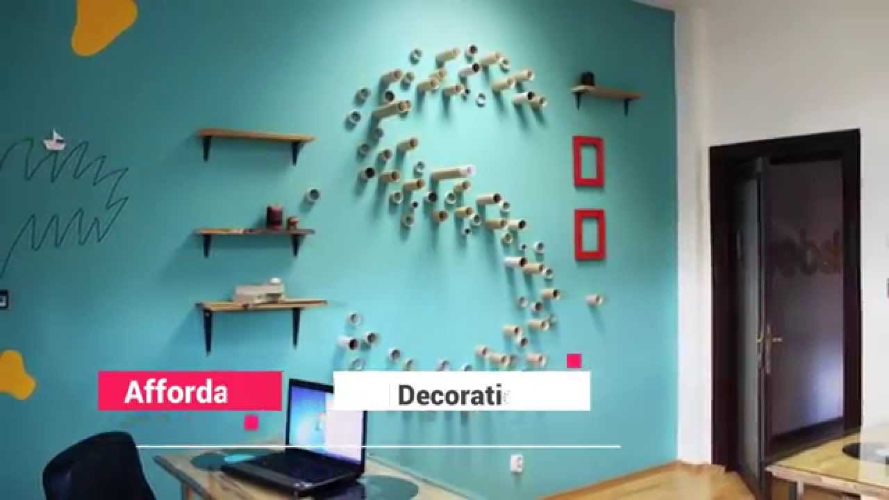 Creative ways to decorate your bedroom walls youtube - How to decorate simple room ...