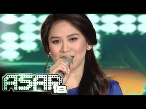 Sarah Geronimo sings 'Kailan' on ASAP 18