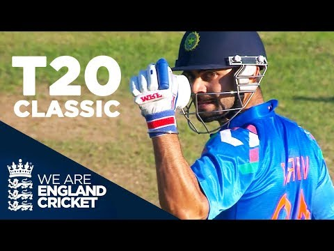 T20 Classic Goes Right Down To The Wire | England v India 2014 - Highlights