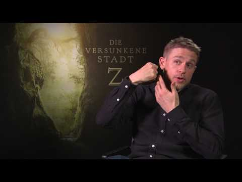 Charlie Hunnam Interview THE LOST CITY OF Z + Beattle - Bug in ear + SONS OF ANARCHY - Jax