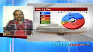 Election Survey 2014 :Asianet News C Fore Survey Result:Kottayam അഭിപ്രായ സര്‍വ്വേ