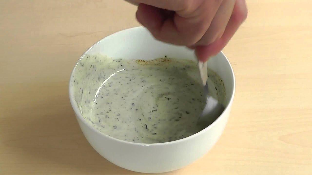 Yogurt mint sauce how to make raita dip thai food masterful youtube forumfinder Image collections