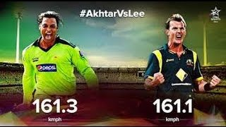Shoaib Akhtar Vs Brett Lee Fast ! Faster !! Fastest BOWLERS IN CRICKET !!!! Best Bowling and Wickets