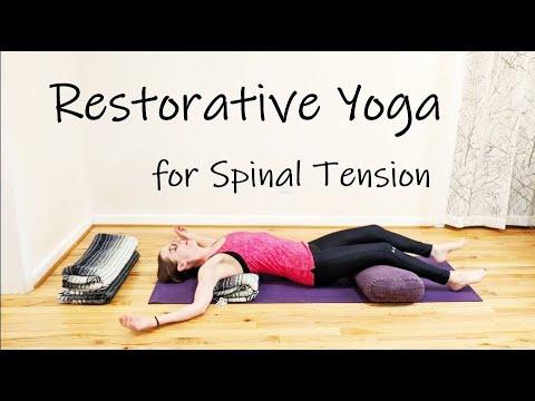 Restorative Yoga for Spinal Tension